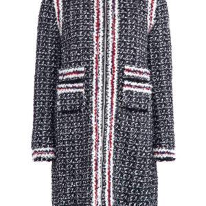 Пальто «Ontario» из ткани букле с внутренней ультра-легкой курткой MONCLER Италия