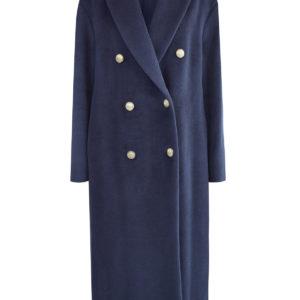 Пальто прямого кроя из шерсти альпаки Soft BRUNELLO CUCINELLI Италия