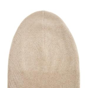 Лаконичная шапка воттенке «беж» изтеплого кашемира BRUNELLO CUCINELLI Италия