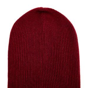 Яркая шапка из кашемировой пряжи в технике английская резинка BRUNELLO CUCINELLI Италия