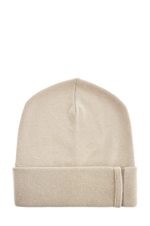 Лаконичная шапка из кашемира