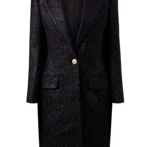 Пальто из плотного твида с люрексом BALMAIN Словакия