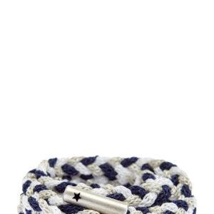 Созданный вручную плетеный пояс с мерцающей нитью LORENA ANTONIAZZI Италия