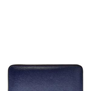 Бумажник с тремя отделениями из кожи saffiano CANALI Италия