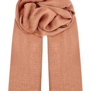 Однотонный шарф из кашемировой пряжи с бахромой ETRO Италия