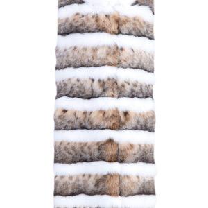 Жилет из меха скандинавской рыси со вставками из лисьего меха MARCO VANOLI Италия