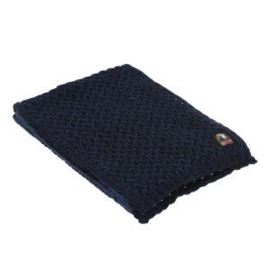 Синий вязаный шарф Parajumpers