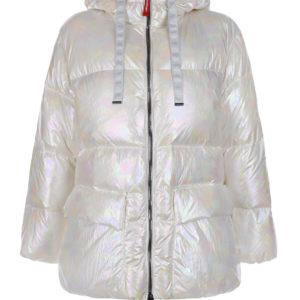 Белая куртка с перламутровым эффектом Freedomday