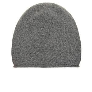 Серая шапка из шерсти и кашемира Tak Ori