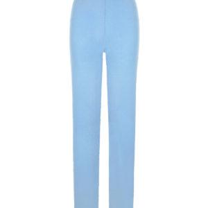 Голубые брюки из кашемира Allude