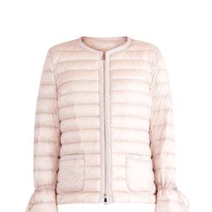 Куртка «Almandin» с лентой грогрена и воланами на манжетах MONCLER Италия