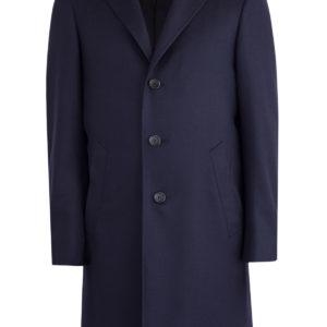 Пальто Kei ручной работы из шерстяной ткани CANALI Италия