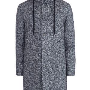 Пальто 2 в 1 из шерстяного драпа с дополнительным пуховиком MONCLER Италия