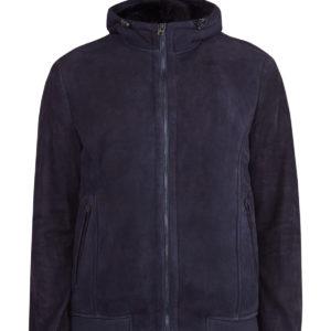 Куртка из матовой замши на подкладке из овчины ETRO Италия