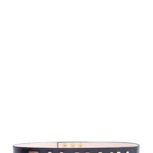 Широкий ремень на талию с золотистой монограммой BALMAIN Франция